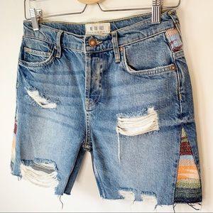 Free People Denim Jean Shorts We The Free